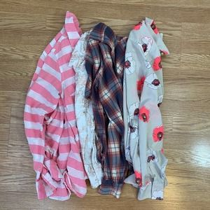 Target Merona Mossimo Lot of 4 Casual Tops Size XS